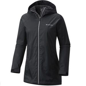 Columbia Switchback Lined Long Jacket in Black